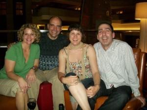Me, Dan, Laura, Thomas, 2009