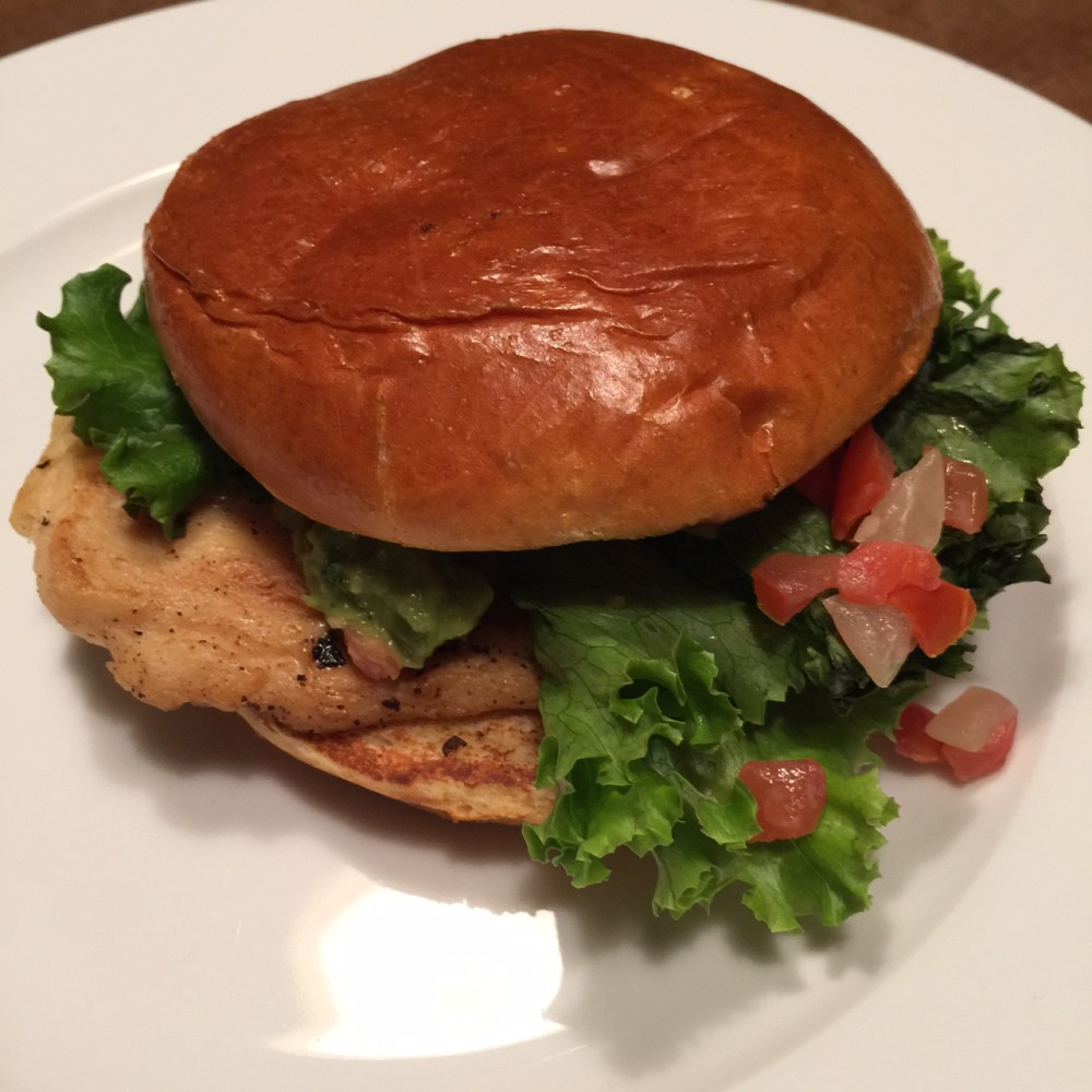 McDonald's Chef Crafted Chicken Sandwich