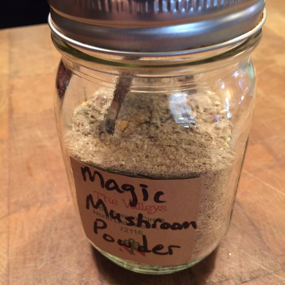 magic mushroom powder