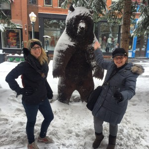 Ashley & Stacey in Aspen