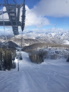 Snowmass view from top