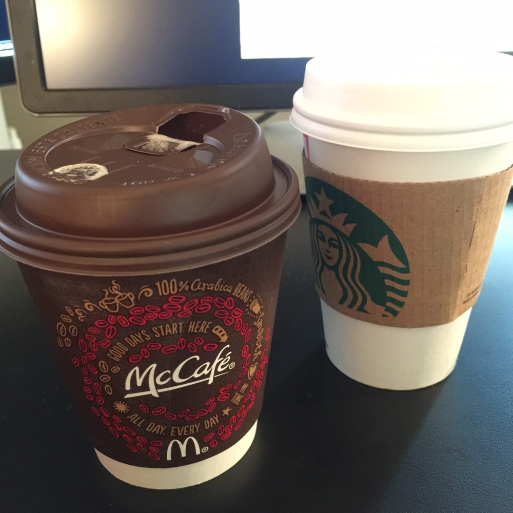 McCafe vanilla latte