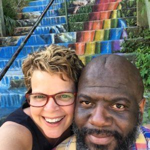 Eureka Springs stair art
