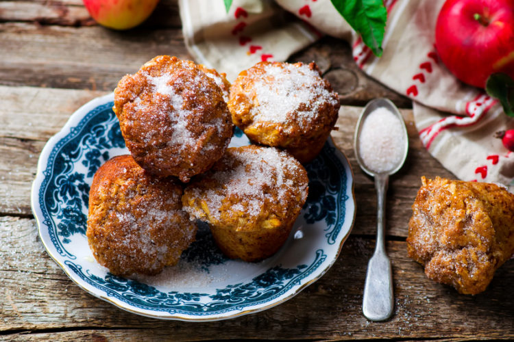 maple pumpkin spice muffins