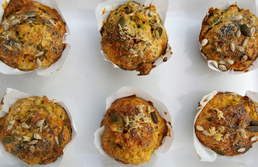 sweet potato five spice muffins