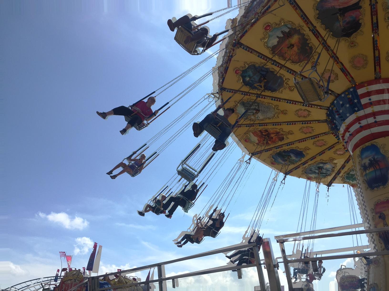 swings at the fair