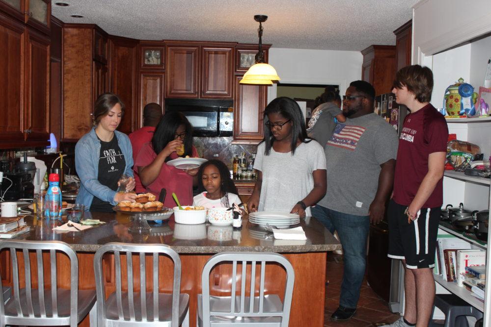 breakfast party