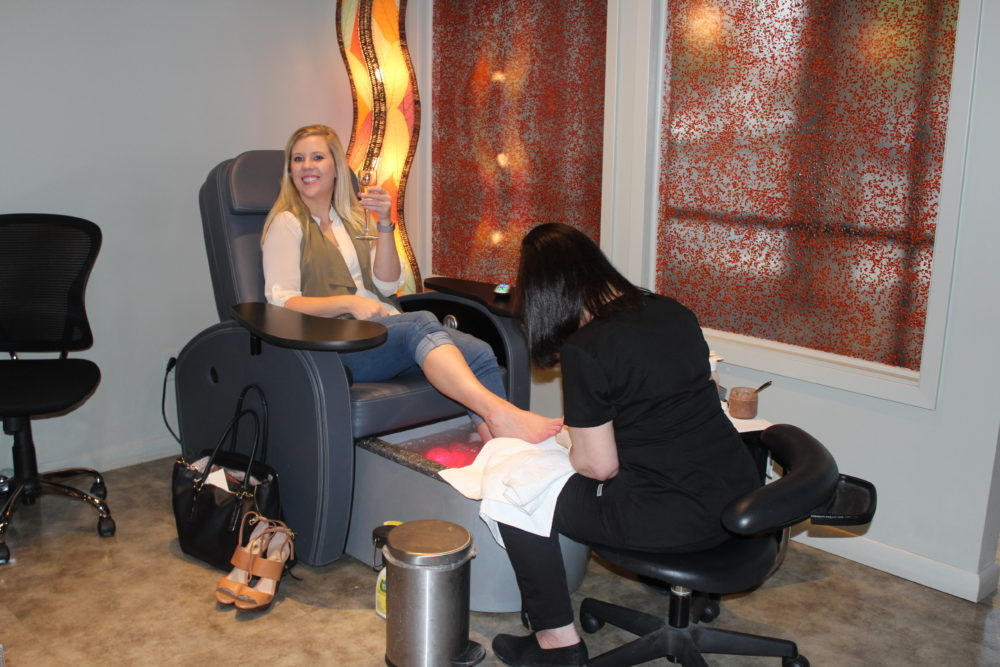 Rejuvenation Clinic Day Spa pedicure