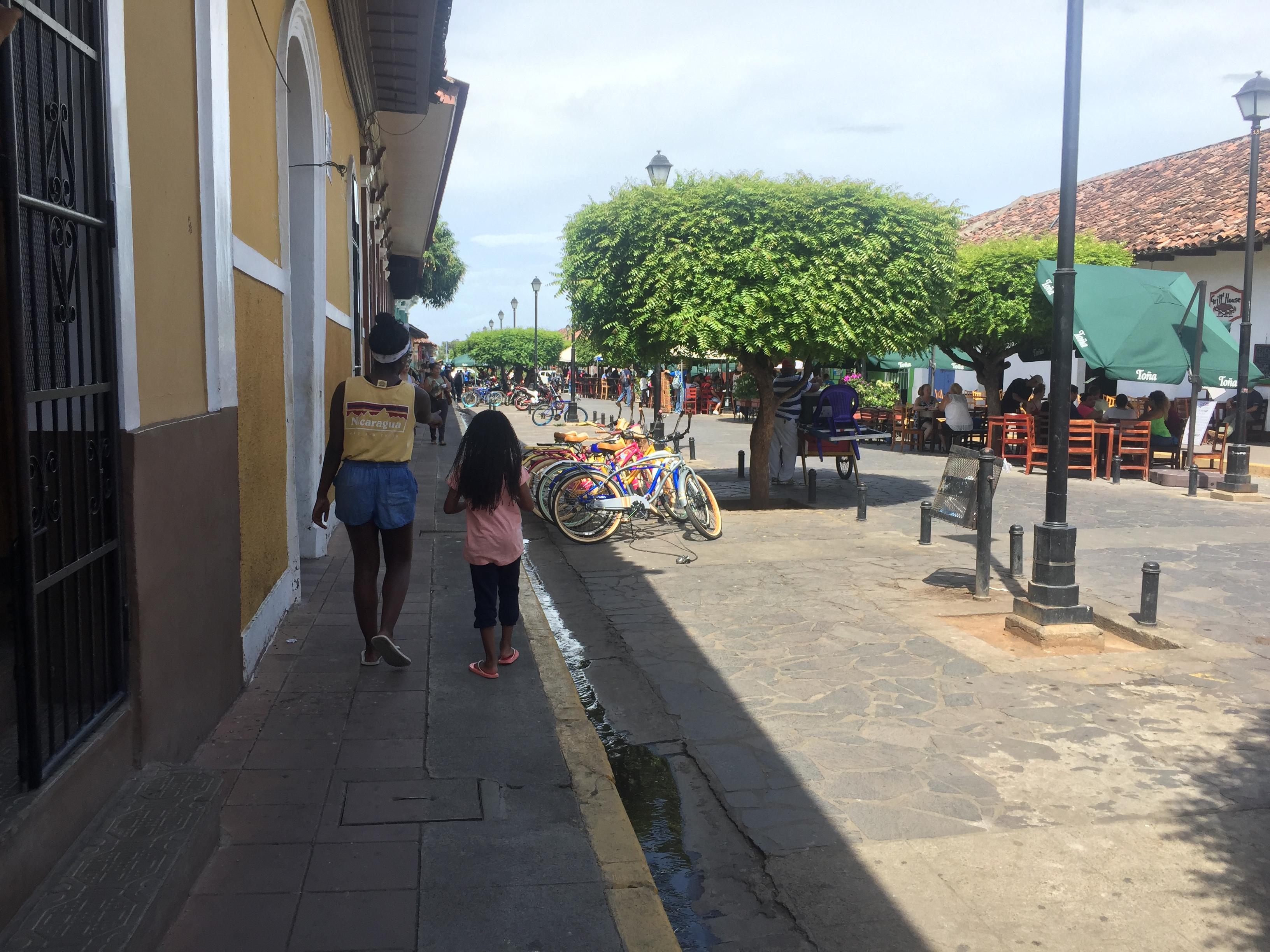 strolling through Granada