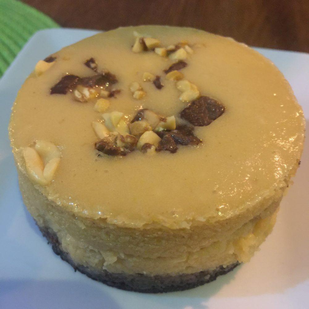 cheesecake at Bocadillos in Granada