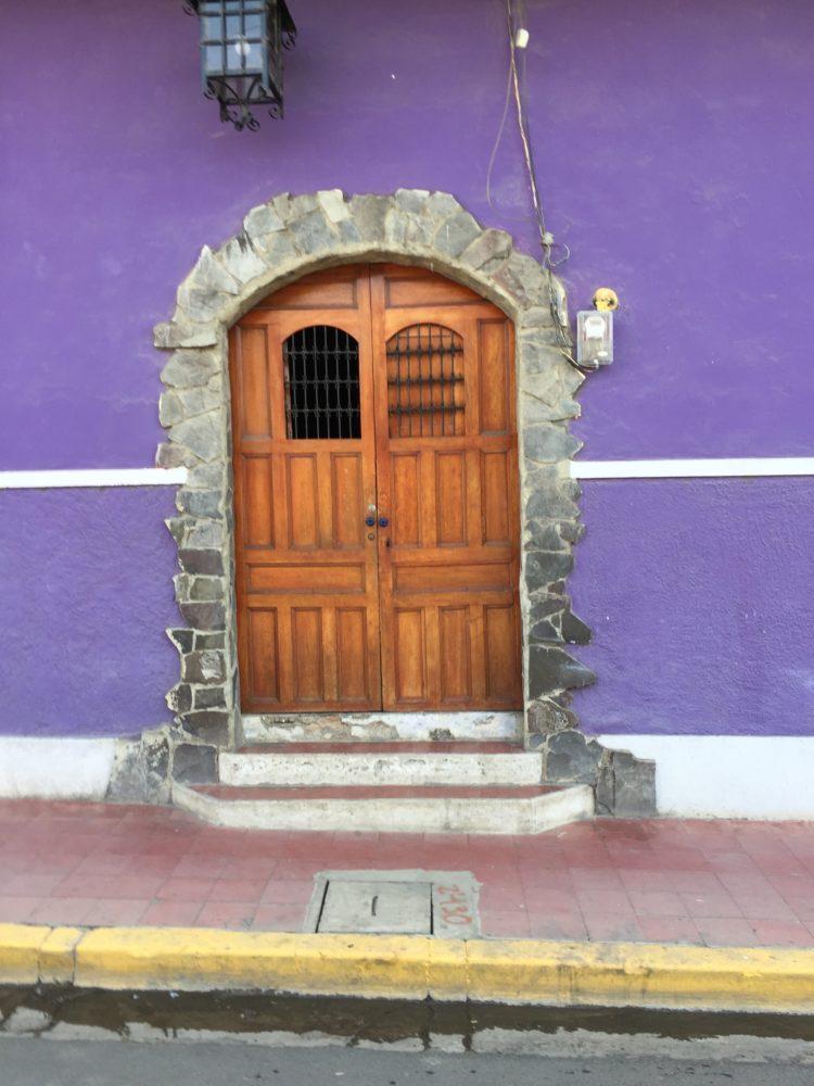 Granada Nicaragua purple door