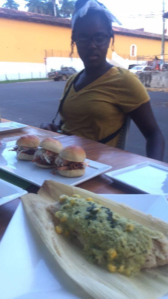 dinner at Bocodillos