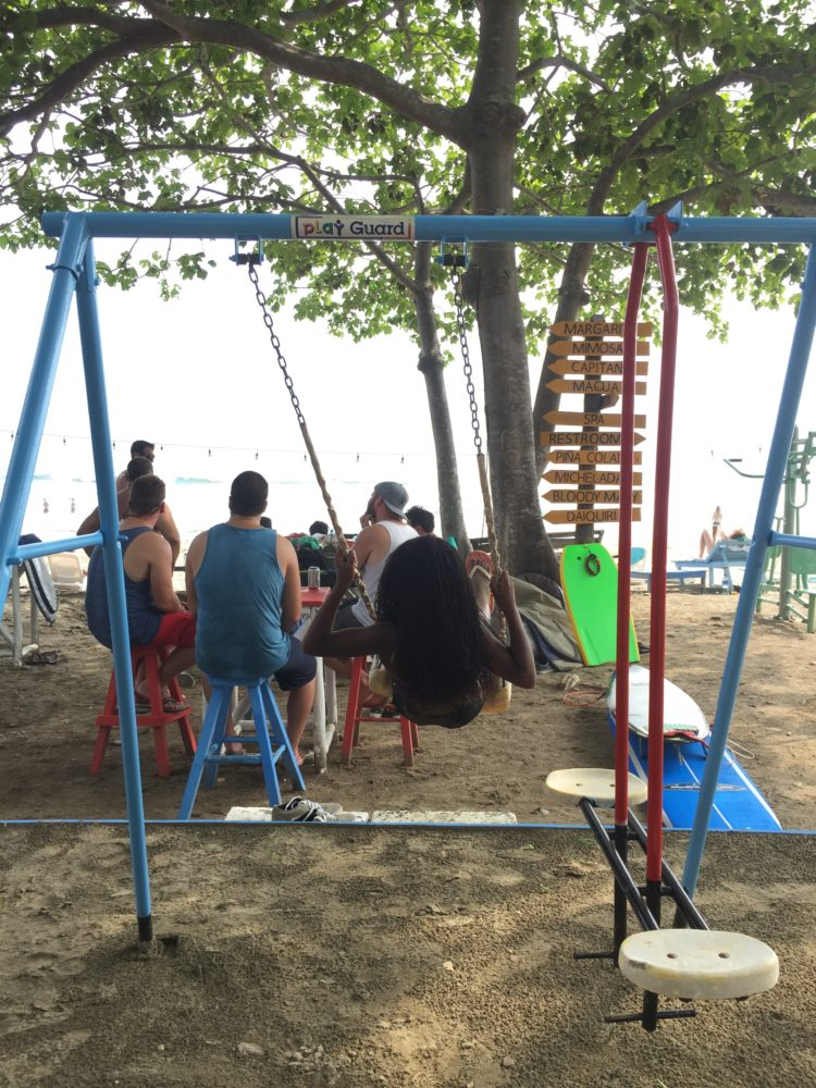 playground on Playa Hermosa