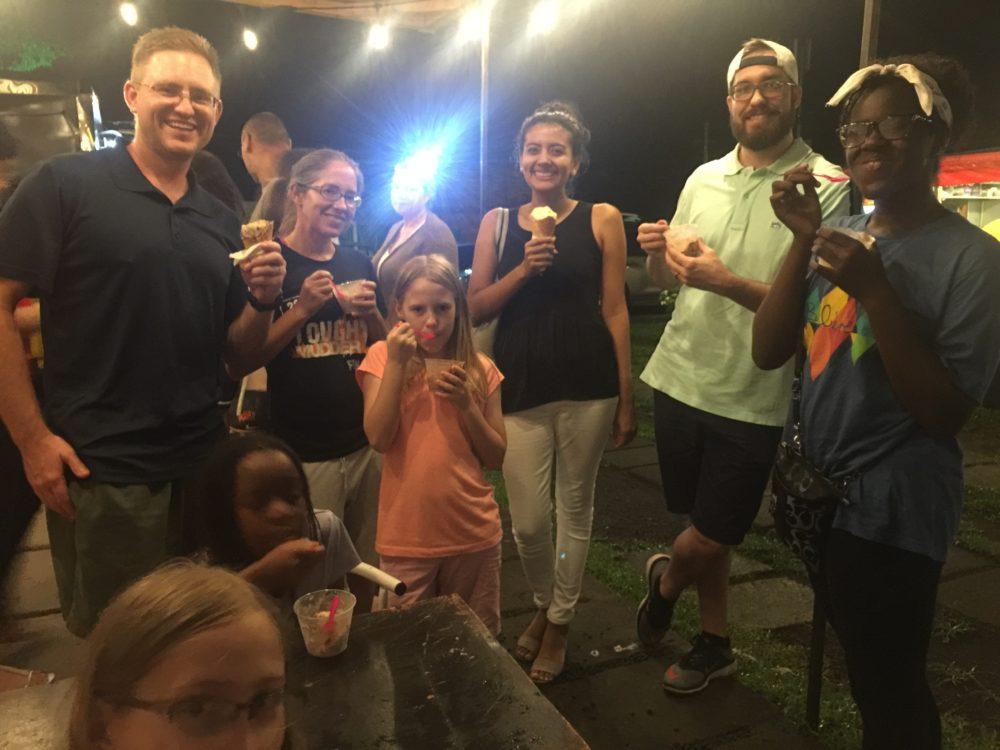ice cream in Managua
