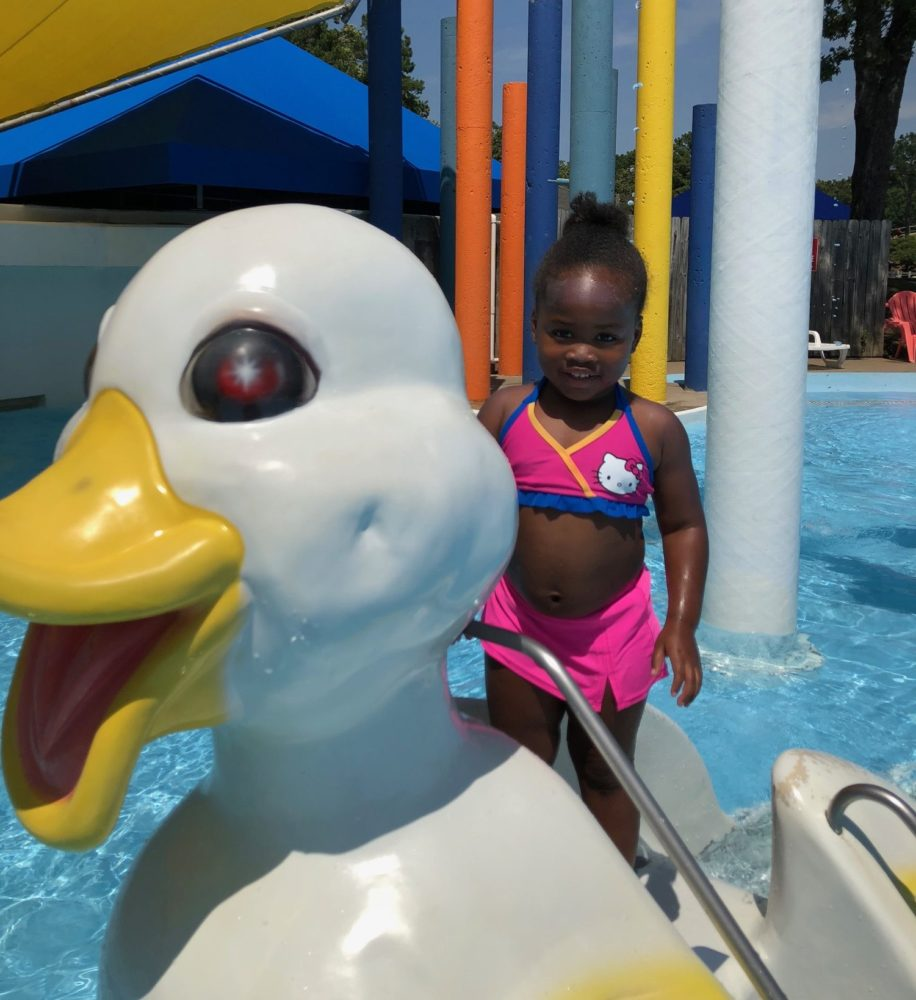 duckie at Wild River Country