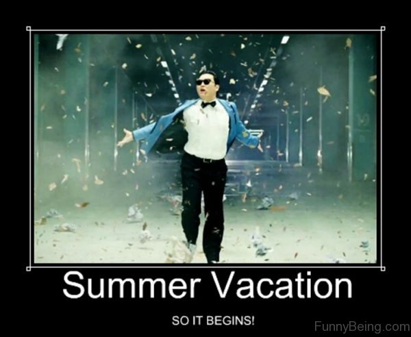 Summer vacation meme