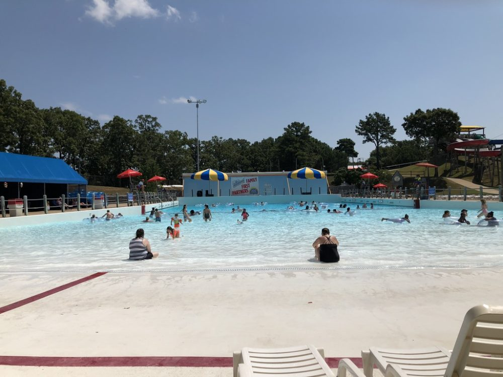 Wave Pool at Wild River Country